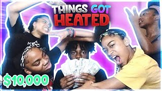 MY 4 SISTERS EXPOSE EACHOTHERS SECRETS FOR 10,000$ | MCDS Mukbang