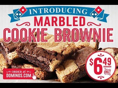 Dominos brownies review