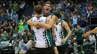 Hawaii Warrior Men Volleyball 2016 - #5 Hawaii Vs #1 UCLA