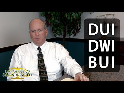 DUI, DWI, and BUI Defense in Collier and Lee County: Law Office of Shannon McFee