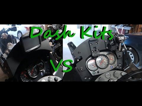 KLR650 Dash Kit Comparison!