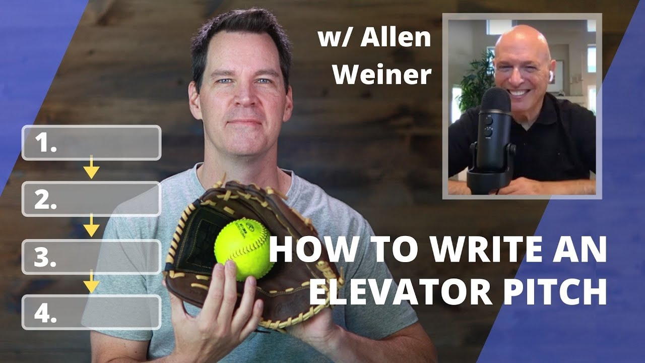 how to write an elevator pitch  youtube