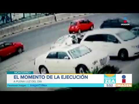 Captan en video la ejecución de un hombre en Monterrey | Noticias con Francisco Zea