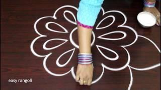 latest free hand rangoli designs * simple kolam with out dots * beautiful muggulu * easy rangavalli