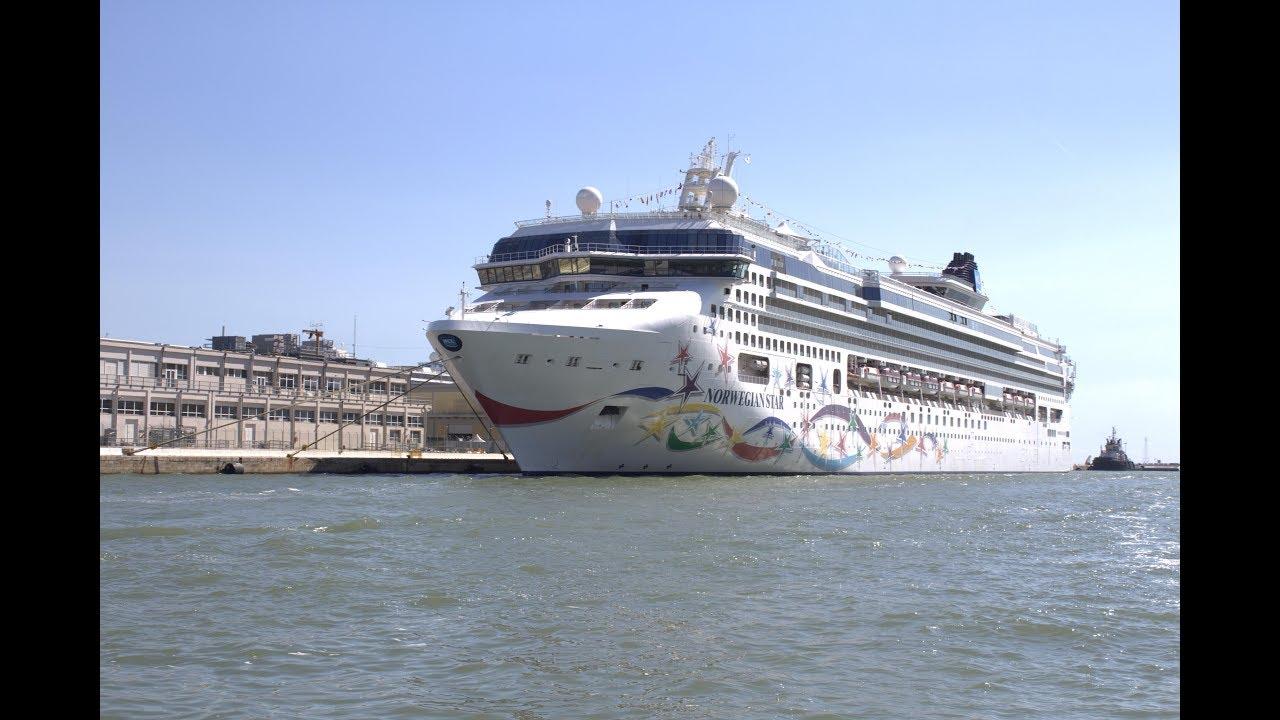 Norwegian Star Cruise Ship Venice Port YouTube - Cruise ships in venice port
