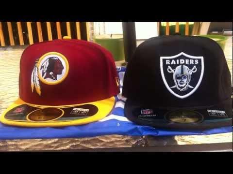 2 New Pick Ups Redskins & Raiders New Era Fitted 5959 On Field