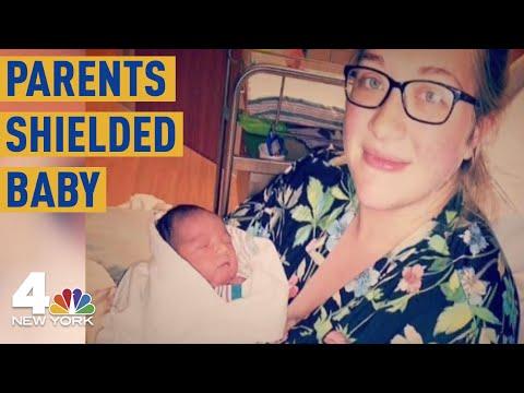 El Paso Attack: Mom Died Shielding Baby from Gunman; Dad Died Shielding Them Both | NBC New York