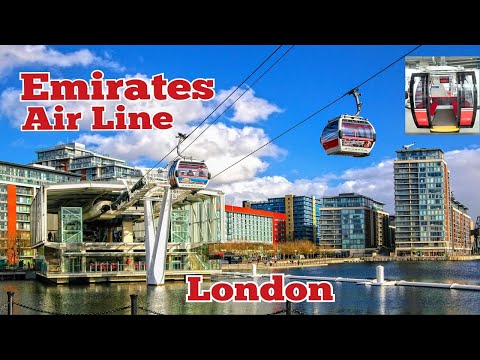 EMIRATES AIR LINE CABLE CAR – LONDON