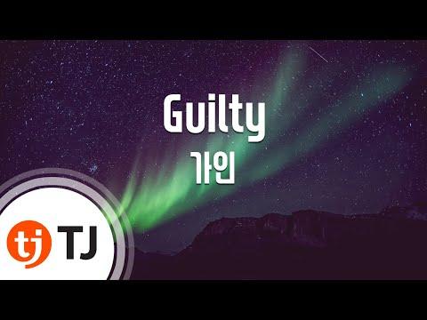 [TJ노래방] Guilty - 가인 (Guilty - Gain) / TJ Karaoke