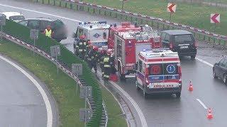 Zakręt Idiotów Bielsko-Biała kierunek Żywiec droga S1