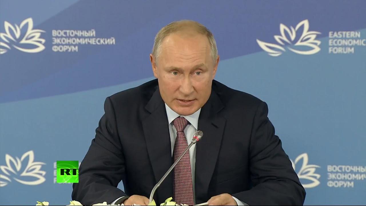 Путин: ключ к сильной экономике — развитие Дальнего Востока