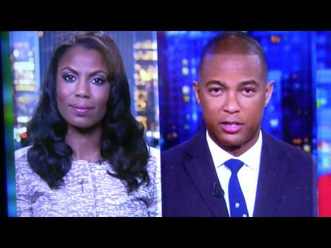"Don Lemon says ""STOP, STOP"" to Amarosa Manigault on CNN"