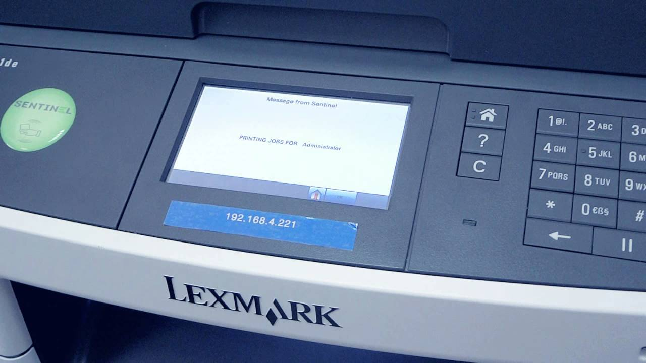 Drivers: Lexmark MX511 Printer