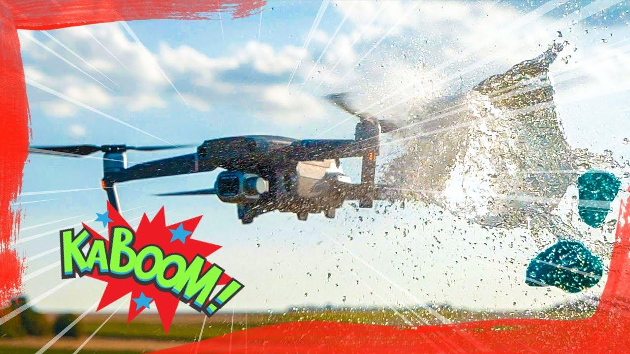 DJI Mavic Pro 2 Fun Crash Test