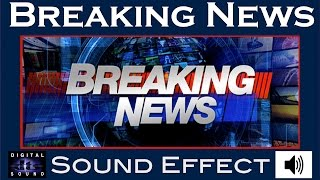 Sound Effects For Breaking News ✺ Best Audio Quality