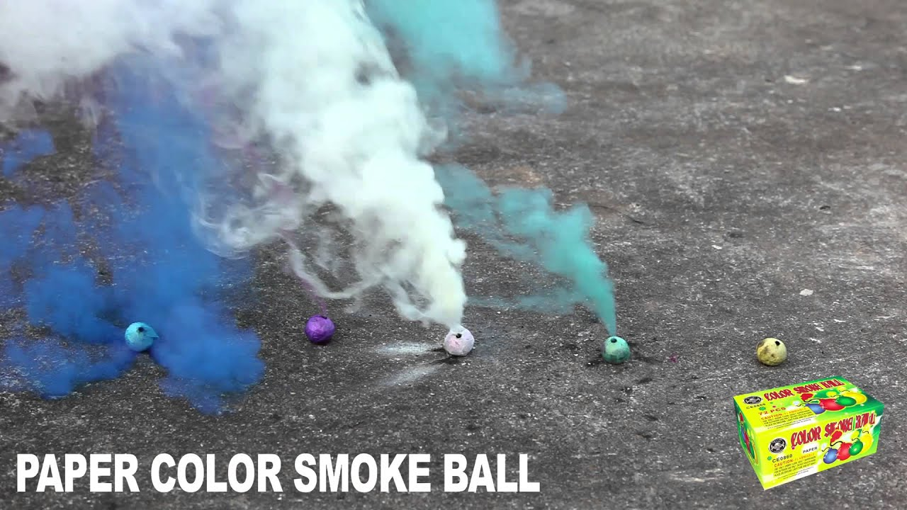 how to make smoke balls