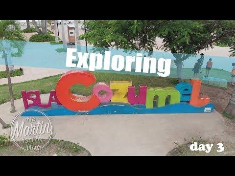 Exploring Cozumel Mexico! Ll Carnival Magic Day 3