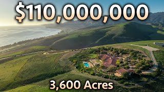Touring a $110,000,000 California Ranch With 3 MEGA MANSIONS!