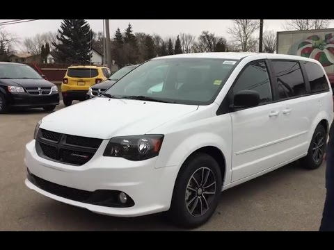 2017 Dodge Grand Caravan | Bright White | Redwater, AB - YouTube