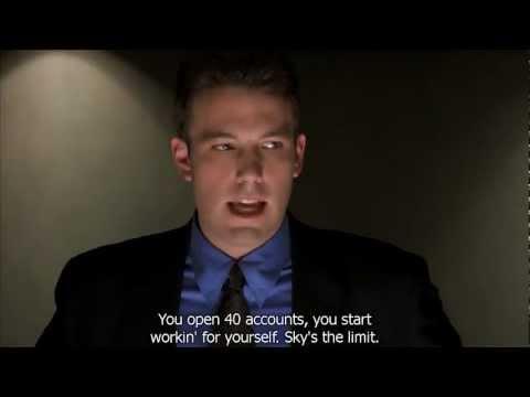 Ben Affleck's in Boiler Room doing his recruitment Speech HD