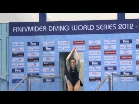 FINA Diving World Series Springboard 3m Women Dubai 2012