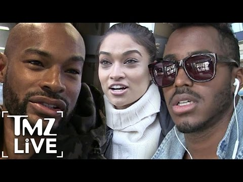 Tyson Beckford: BRAWL Over Hot Model (TMZ Live)