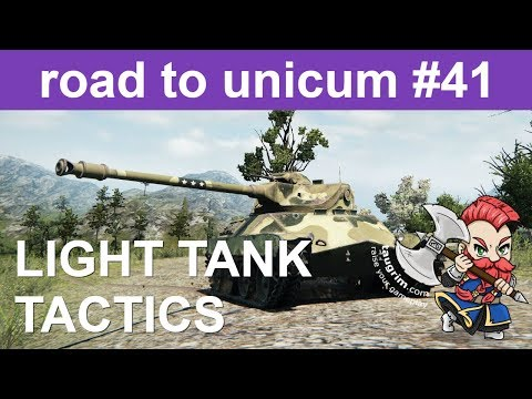 Unicum Guide to Light Tank Tactics and Scouting