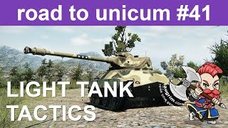 Guide to Light Tank Tactics and Scouting