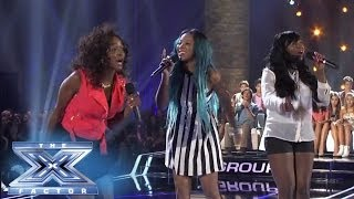 roxxy montana looks into the mirror the x factor usa 2013