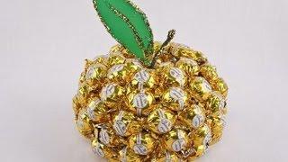 Яблонька из бисера МК Красивый Подарок На День Учителя Поделки своими руками