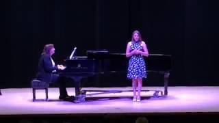 Abby C (HS Freshman) - One Perfect Moment from Bring It On S2019 Recital
