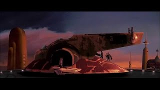 the empire strikes back   boba fett escapes cloud city full
