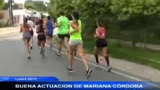 BUENA ACTUACION DE MARIANA CORDOBA
