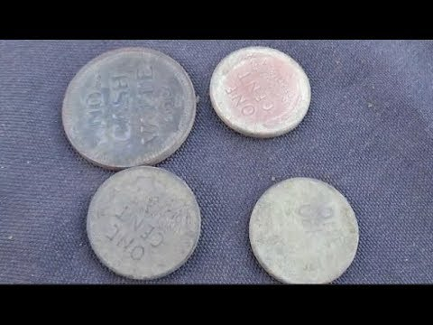 Quest 4 Treasure # 122 Coins!Coins! coins ! The 55 Penny day Metal Detecting  By: Quest For Details