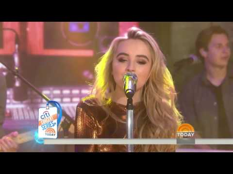 Sabrina Carpenter  - Thumbs Live on Today Show 2016 - IMPROVED SOUND