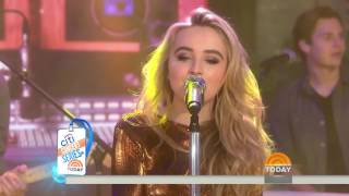 Sabrina Carpenter Thumbs Live On Today Show 2016 IMPROVED SOUND