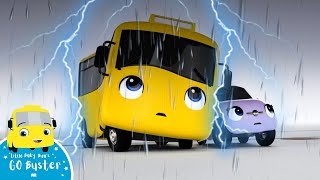 Scary Storm - Go Buster the Yellow Bus | Nursery Rhymes & Cartoons | LBB Kids