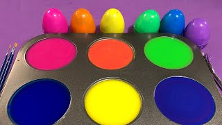 Fun color game and number game video with various play tools in the box 상자에 컬러 게임 플레이 도구