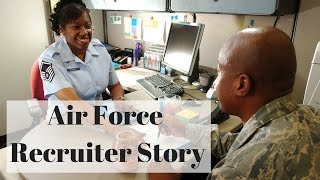 My Recruiter experience joining the Air Force