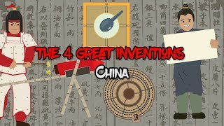 The 4 Great Inventions that changed the world (China)