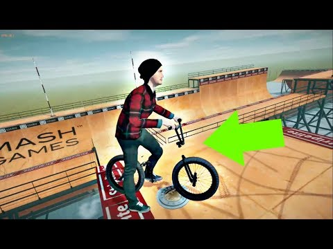 INVISIBLE BIKE on BMX VIDEO GAME!