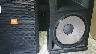 Test Loa Jbl 715 Bass 40 Họng 100 Từ 220 Giá 6tr8 2 Quả