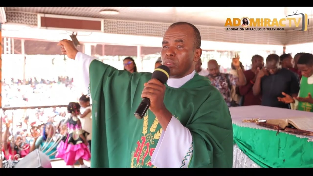 Download Rev Fr,  Ejike Mbaka - God Will Grant You, Your Heart Desires. In The Name of Jesus Christ