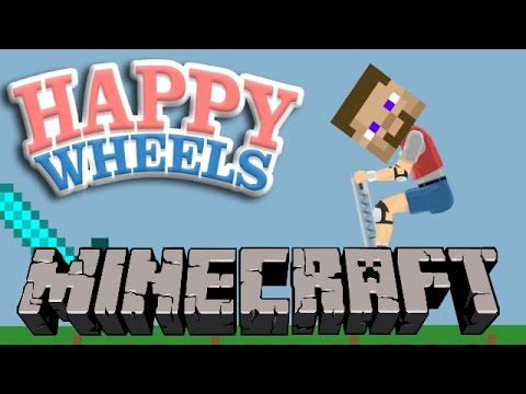 Crazy Minecraft Levels Happy Wheels Funny Moments Youtube