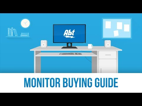 Computer Monitor Buying Guide: Computer Monitor Sizes