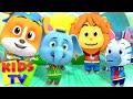 Animal Dance Song | Nursery Rhymes & Baby Songs | Loco Nuts Cartoon | Kids Tv