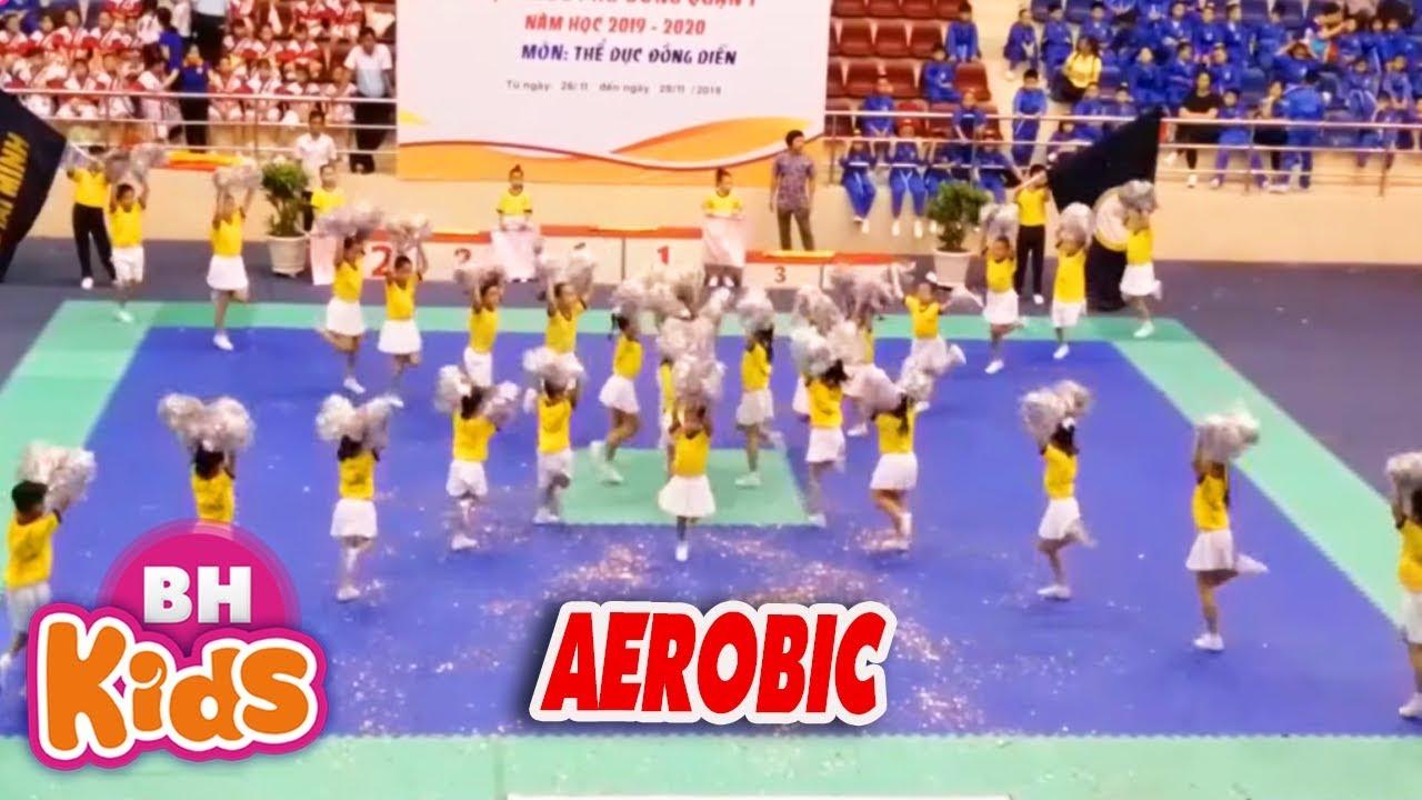 Nhảy Aerobic Tiểu Học - Thiếu Nhi Thành Phố Bác - Nhạc Thiếu Nhi Bé Khai Xuân