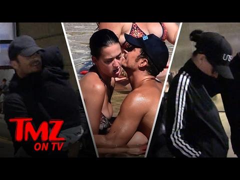 Orlando Bloom & Katy Perry Kidding Around! (TMZ TV)