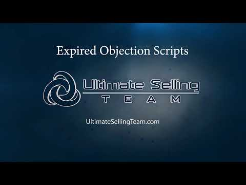 Expired Listing Objection Scripts