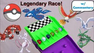 EPIC Legendary Pokemon Elimination Marble Race #1 | Pokemon Rush